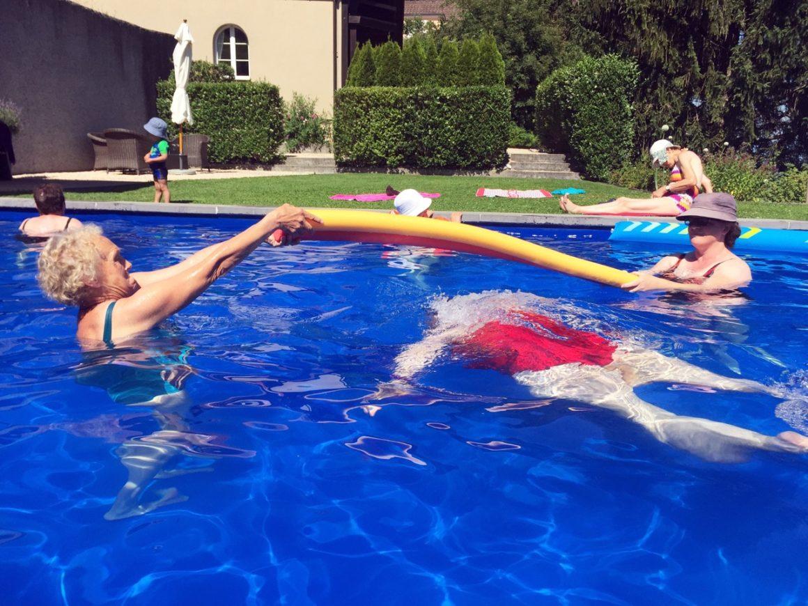 Sommerzeit – Badezeit